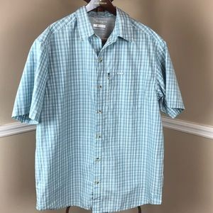 Columbia Omni Shade button down short sleeve shirt